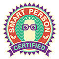 Zevia Certified Smart Person badge
